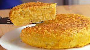 Tortilla de patatas sin aceite
