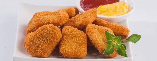 nuggets bajos en grasa