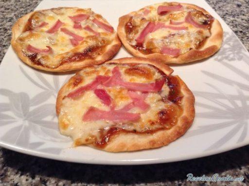 Pizza baja en grasa
