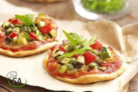 pizza casera freidora sin aceite