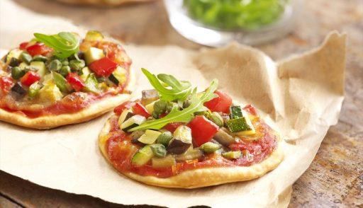 pizzas con pocas calorías