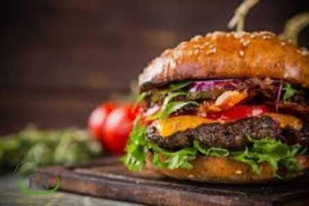 hamburguesas con queso en freidora sin aceite
