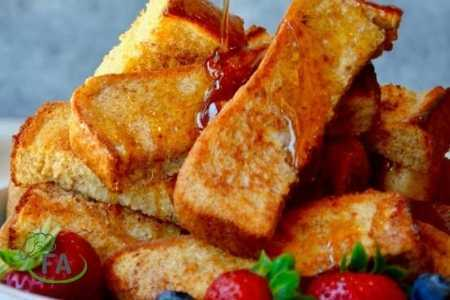 palitos de tostadas francesas air fryer