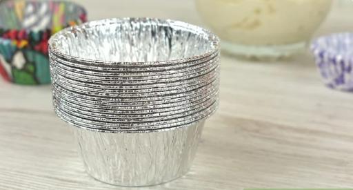 moldes para magdalena de aluminio