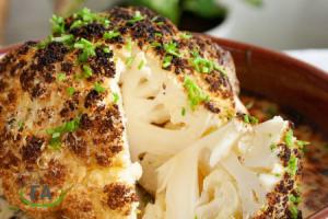 receta coliflor asada al horno