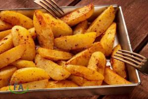 receta de patatas gajo caseras al horno