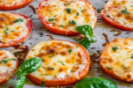 receta de tomate al horno con queso gratinado