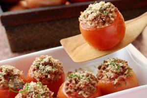receta de tomates rellenos de carne picada al horno