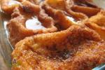 receta de torrijas con miel al horno