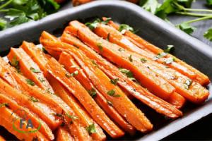 receta de zanahorias asadas al horno