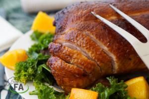 receta pavo a la naranja al horno