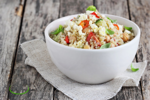 recetas quinoa con verduras al horno